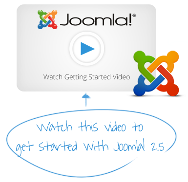 Click Here for Getting Started Video for Joomla! 2.5