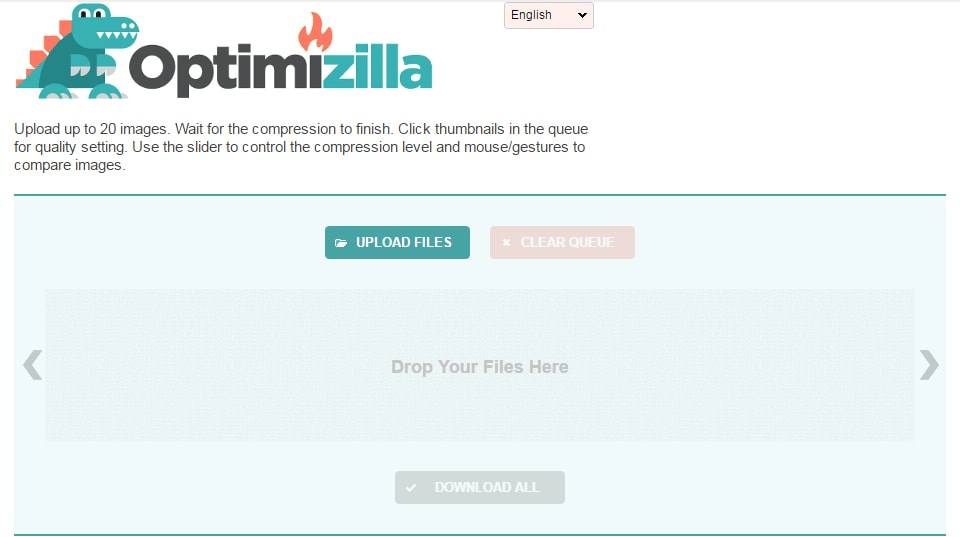 Optimizilla (Image Optimizer)