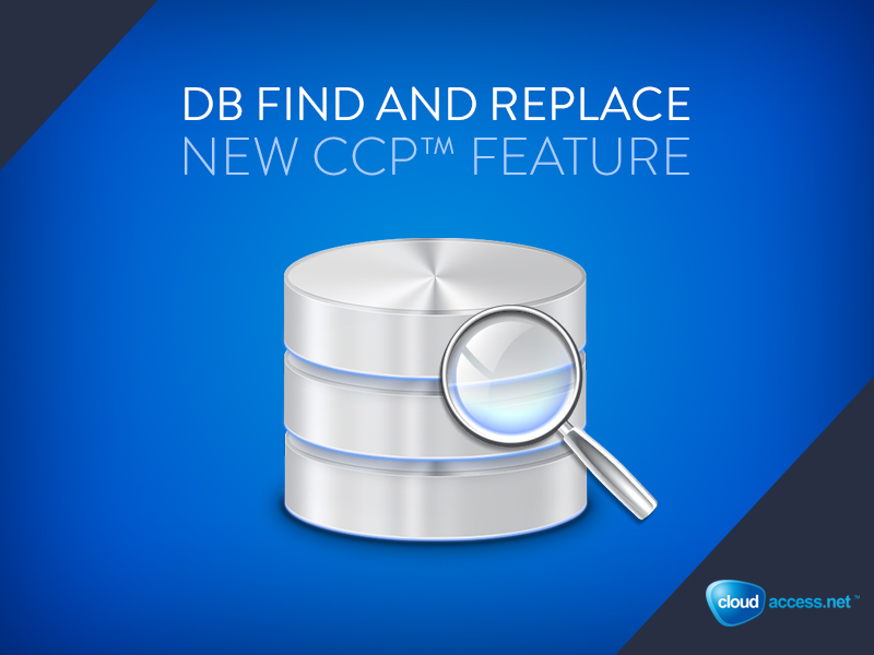 db find and replace