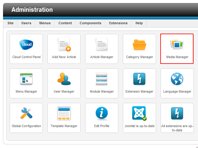 Joomla 2. 5 tutorial how to add images and upload files media.