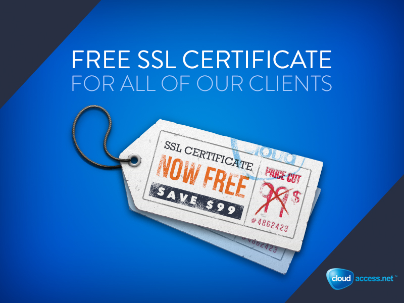 Introducing 100 Free Ssls For Our Clients Cloudaccess Blog
