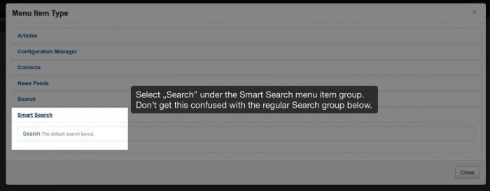 searchmenuitemtype 2